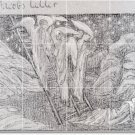 Burne-Jones Illustration Room Tiles Mural Wall Decor Floor