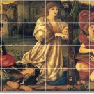 Burne-Jones Historical Murals Room Living Floor Design Remodel
