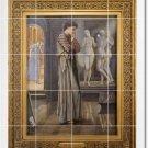 Burne-Jones Mythology Dining Tile Wall Room Mural Home Remodel