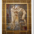 Burne-Jones Mythology Tile Dining Wall Room Mural Construction