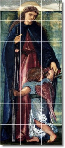 Burne-Jones Mother Child Room Mural Home Decorating Ideas