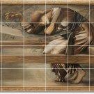 Burne-Jones Illustration Living Murals Room Design Modern