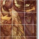 Burne-Jones Mythology Murals Bedroom Wall Wall Home Art Modern