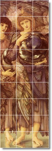 Burne-Jones Mythology Murals Bedroom Wall Wall Home Art Modern