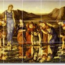 Burne-Jones Mythology Bedroom Wall Tile Murals Design Renovate