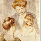 Cassatt Mother Child Mural Bathroom Wall Shower Decor Residential