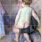 Cassatt Mother Child Shower Tile Bathroom Wall Renovations Modern
