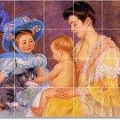 Cassatt Mother Child Wall Dining Room Mural Renovations Idea Home