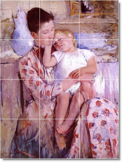 Cassatt Mother Child Wall Dining Mural Room Idea Home Renovations