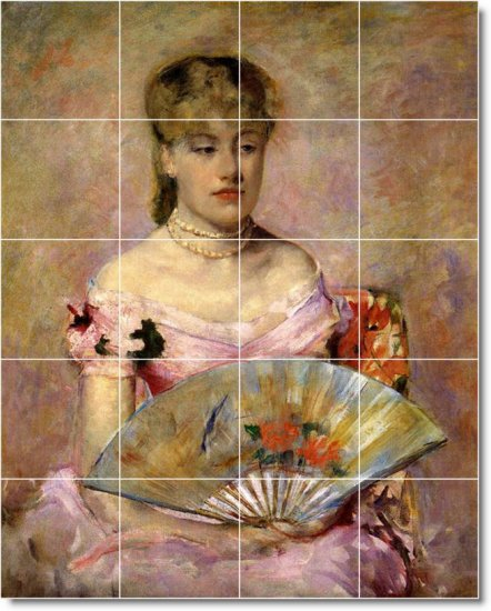 Cassatt Women Dining Room Tiles Mural Ideas Residential Remodel