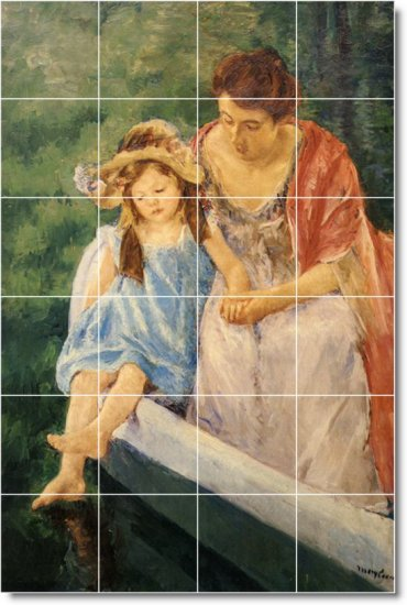 Cassatt Mother Child Tiles Room Dining Wall Remodeling House Idea