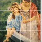 Cassatt Mother Child Tiles Room Dining Wall Remodeling House Idea