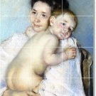 Cassatt Mother Child Murals Floor Living Room Design Construction