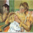 Cassatt Mother Child Floor Room Murals Wall House Renovation Idea