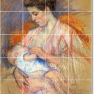 Cassatt Mother Child Floor Murals Wall Room Idea House Renovation