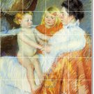 Cassatt Mother Child Mural Bathroom Home Decorate Idea Remodeling