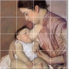 Cassatt Mother Child Tiles Room Floor Mural Decorating House Idea