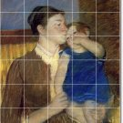 Cassatt Mother Child Tiles Room Mural Floor Decorating Idea House