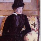 Cassatt Women Mural Backsplash Tile Kitchen Floor Design Modern