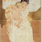Cassatt Mother Child Wall Tile Murals Bedroom Construction Modern