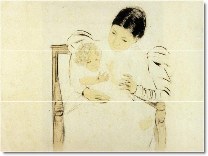 Cassatt Mother Child Kitchen Murals Wall Floor Design Modern Home