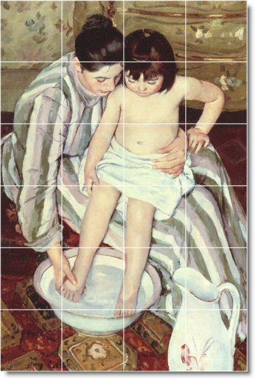 Cassatt Mother Child Floor Kitchen Wall Murals Design Home Modern