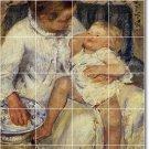 Cassatt Mother Child Tile Shower Wall Murals Decor Decor Interior