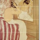 Cassatt Women Shower Mural Tiles Wall Renovate Home Traditional