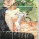 Cassatt Women Wall Tiles Mural Shower Interior Renovations Idea