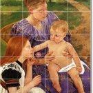 Cassatt Mother Child Tile Wall Shower Murals Decor Decor Interior