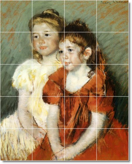 Cassatt Children Murals Floor Kitchen Wall Decor House Remodel