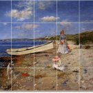 Chase Waterfront Dining Room Murals Wall Tile Art Floor Modern