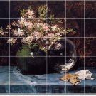 Chase Flowers Murals Wall Tile Room Dining House Ideas Renovate