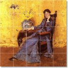 Chase Women Wall Mural Room Dining Design Idea House Remodeling