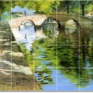 Chase Waterfront Dining Tile Room Wall Mural Remodeling Design
