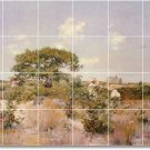 Chase Landscapes Tile Wall Mural Dining Room Decor Decor Floor
