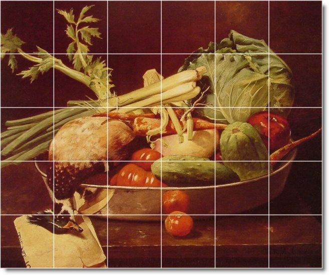 Chase Fruit Vegetables Kitchen Mural Tile Idea Renovation Home