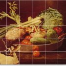 Chase Fruit Vegetables Kitchen Mural Tile Idea Renovation Home