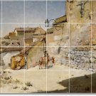 Chase Village Tiles Wall Room Mural Mural House Decorating Idea