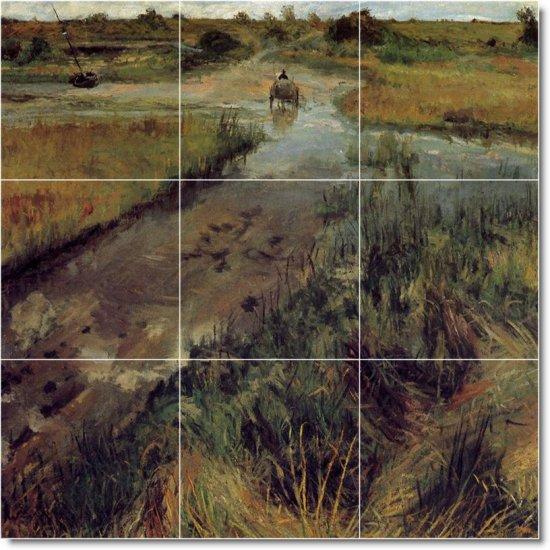 Chase Country Tiles Wall Room Mural Mural House Idea Decorating