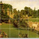 Chase Village Tiles Wall Mural Room Mural Idea House Decorating
