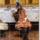 Chase Women Wall Room Mural Tile House Decorate Remodeling Idea