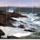 Church Waterfront Tiles Mural Wall Room Decorate Home Traditional