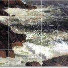 Church Waterfalls Tile Wall Backsplash Mural Kitchen Modern Floor