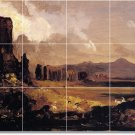 Cole Landscapes Room Dining Murals Tile Remodel Interior Decor
