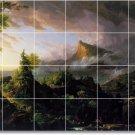Cole Landscapes Backsplash Tile Mural Decorating Idea Interior