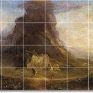 Cole Landscapes Mural Backsplash Tile Idea Interior Decorating