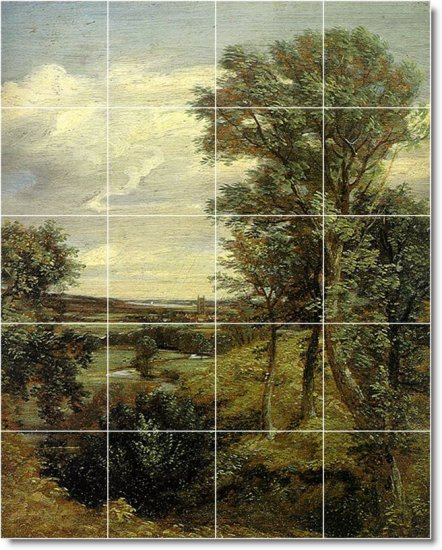 Constable Country Wall Tile Room Dining Ideas House Construction