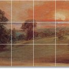 Constable Country Tile Dining Wall Room Residential Construction