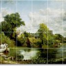 Constable Country Tile Room Dining Wall Construction Residential